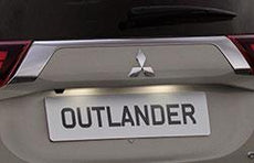 Mitsubishi Outlander PHEV LED Number Plate Light Units 2016-