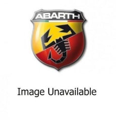 Abarth 500/595 Corsa Kick Plate Set, Stainless Steel