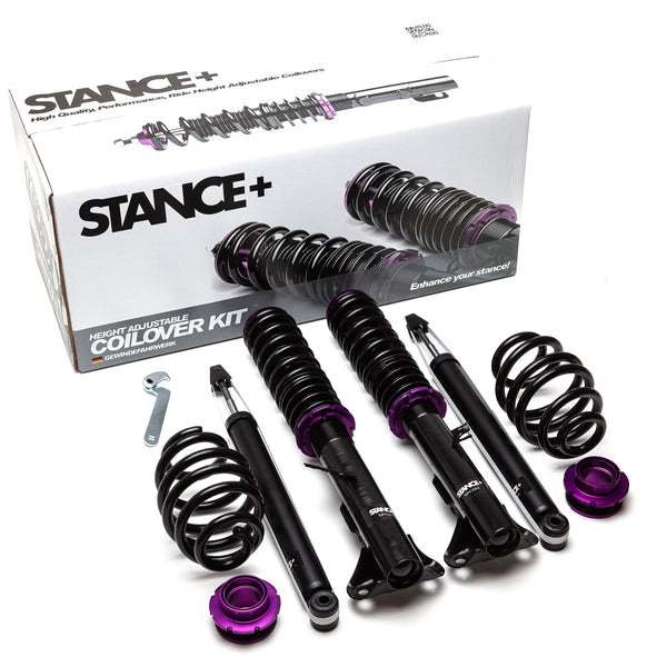 Stance+ Street Coilover Kit BMW E36 320i, 323i, 325i, 328i Coupe Saloon Excl M3