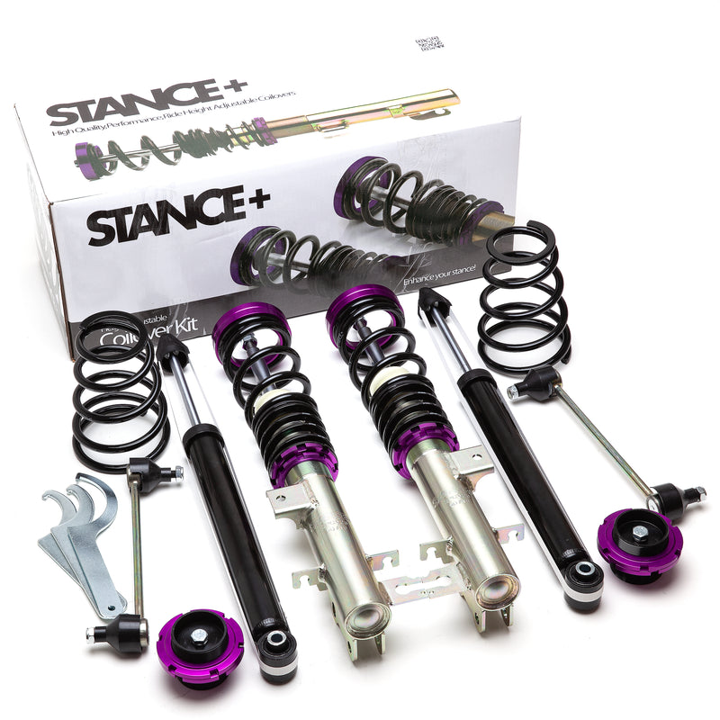 Stance+ Ultra Coilovers Suspension Kit Vauxhall Corsa D 1.6 Turbo,VXR
