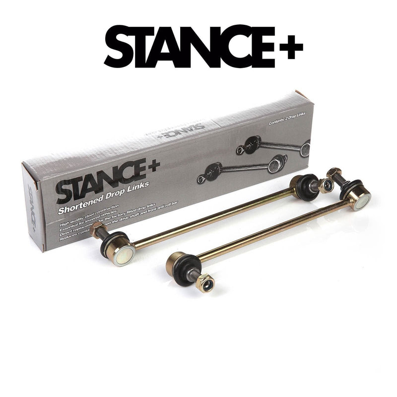 Stance+ Short/Shortened Front Drop Links (VW Scirocco 3) 300mm (M12x1.5) DL713