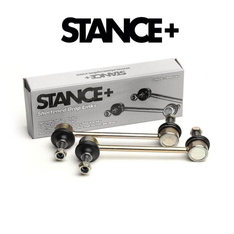 Stance+ Short/Shortened Front Drop Links for (BMW E46) 160mm (M10x1.5) DL11