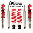 PROSPORT DZT-LINE COILOVER SUSPENSION KIT VW Bora 1998-2006 All Engines