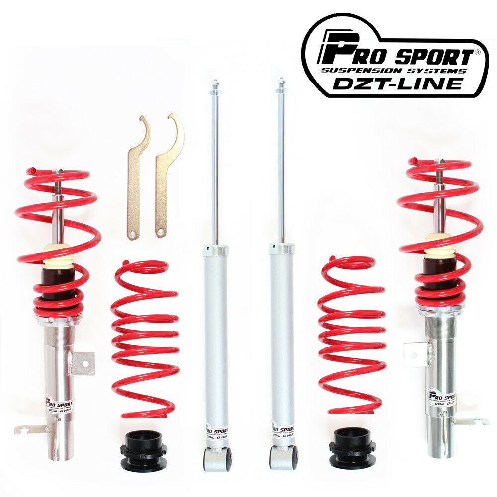 Prosport DZT-Line Coilover Lowering Kit Ford Fiesta Mk6 (All Engines) JH/JD