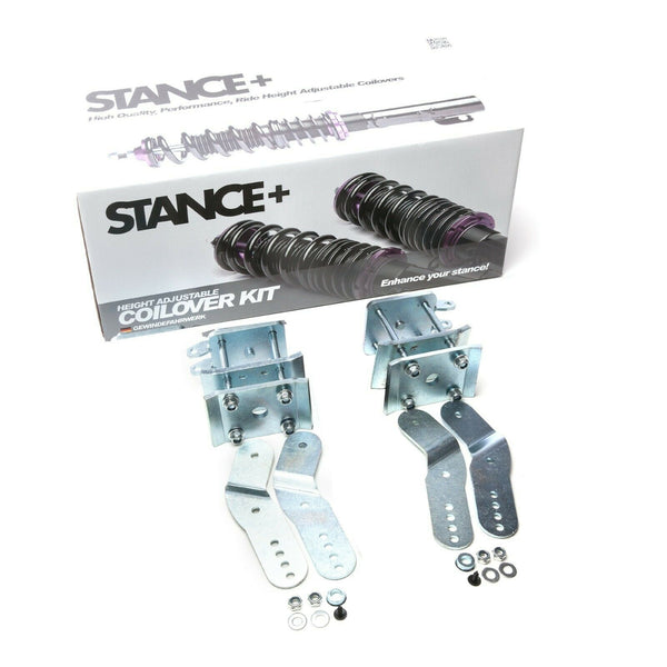 Stance+ Street Rear Axle Suspension Lowering kit Shackles Kit for VW Caddy Mk3 Mk4 2K