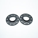 BIMECC BLACK ALLOY WHEEL SPACERS AUDI 5X100 57.1MM 20MM PAIR