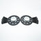 Bimecc Black Alloy Wheel Spacers Audi 5x112 66.6mm 10mm Pair + Bolts