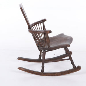 Eccentric Windsor Rocking Chair
