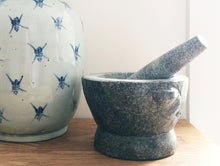 Load image into Gallery viewer, Stone Mortar and Pestle