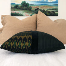 "Load image into Gallery viewer, Indonesian Ikat Pillow 20""x20"""