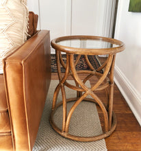 Load image into Gallery viewer, McGuire of San Francisco Rattan Table, Mid Century