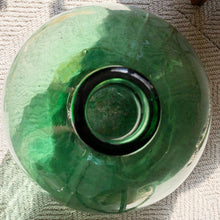 Load image into Gallery viewer, Large Green Glass Jug
