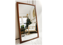 Load image into Gallery viewer, Danish Teak Mirror by Aksel Kjersgaard