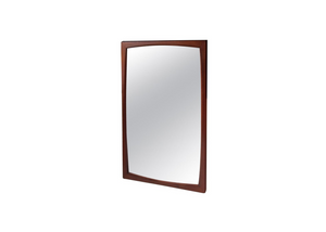 Danish Teak Mirror by Aksel Kjersgaard