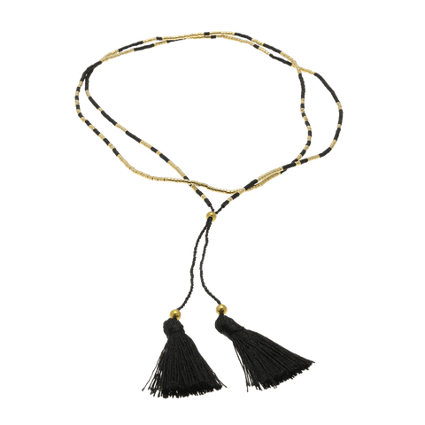 By Who - 100677 Necklace tassel gold ♀