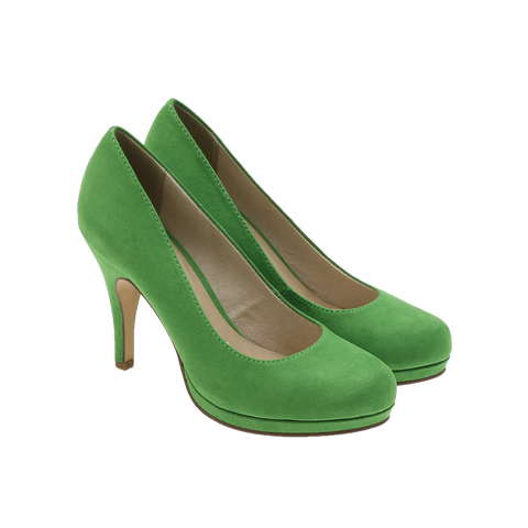Tamaris - 22407 Green suede ♀
