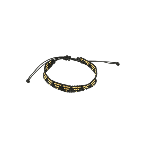 By Who - 100763 Bracelet cord sort ♀