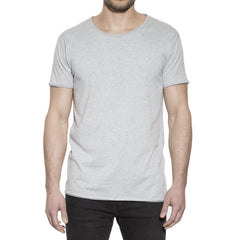 Bread & Boxers - 103403 Crew-neck relaxed grå ♂