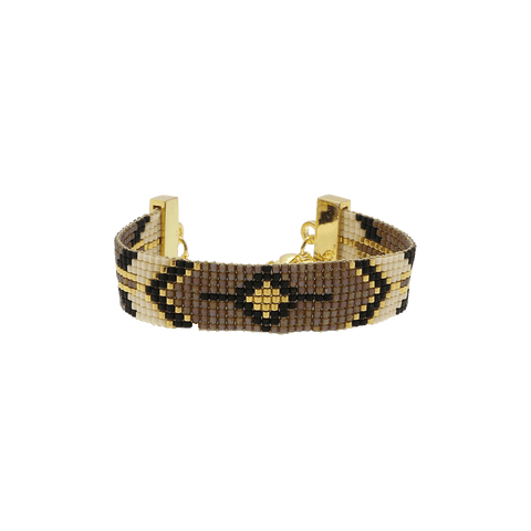 By Who - 100768 Bracelet Ceylon brun ♀