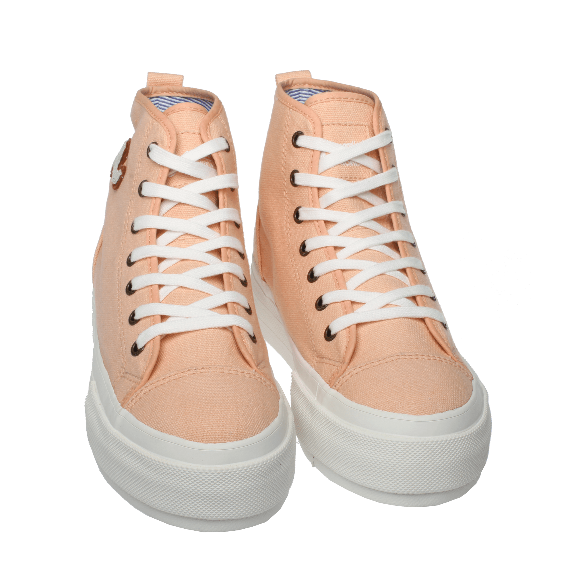 Flatform hightops salmon pink