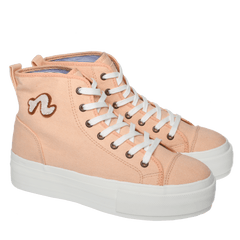 Noodles hightop salmon pink