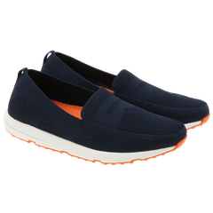 Swims - 21288 Breeze leap knit penny marineblå ♂