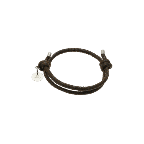 By Who - 100250 Bracelet simple animal brun ♀