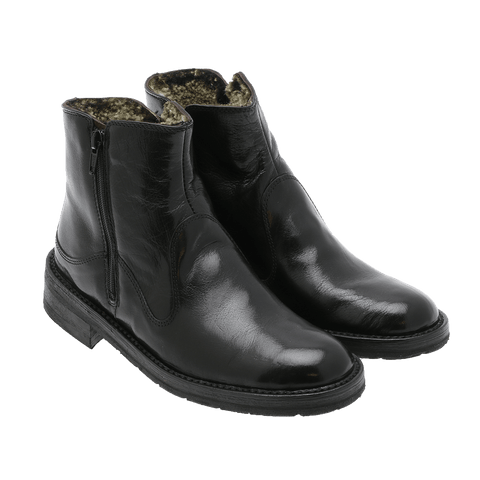 Bubetti - 2558 Smart Nero boot m/fôr sort ♀