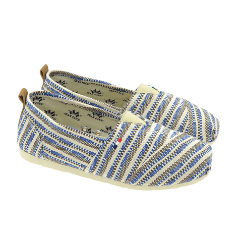Jean Paul Pargas ethnic blue beige
