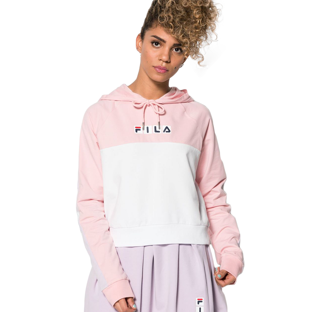 Fila - 682116 Chelsea hooded sweat hvit ♀