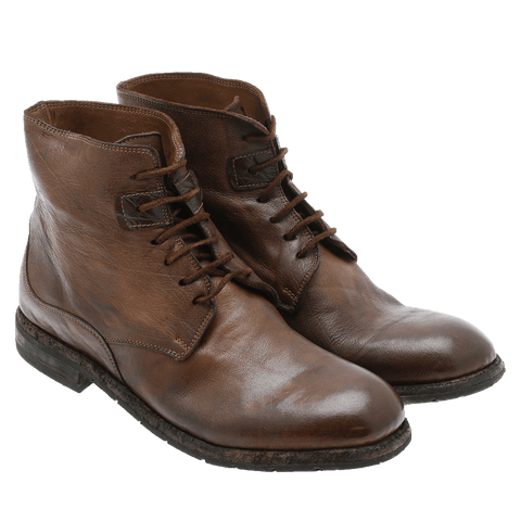 Bubetti - 8647 Lux lace-up solbrun ♂