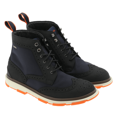 Swims - 21277 Storm brogue high marineblå/sort ♂