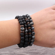 Black Lava Rock Mala Bracelet (Special Offer)