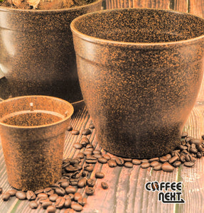 Coffee NEXT Upcycling Planting Pot (Family Set)