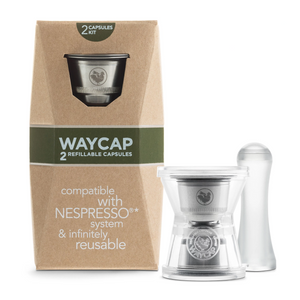 WayCap Reusable Capsule for Nespresso® (Basic / Complete Kit)