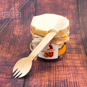OneSTEP Compostable Wooden Cutlery (100 pcs/ pack)