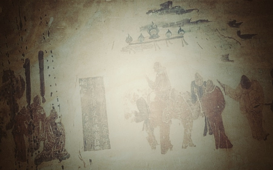 Grottoes mural repair and protection