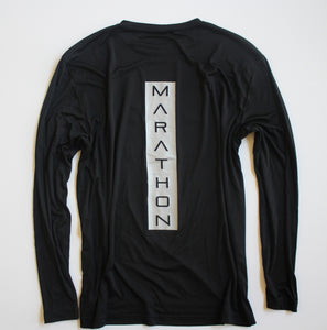 MEN'S REFLECTIVE MARATHON PERFORMANCE LONG-SLEEVE SHIRT