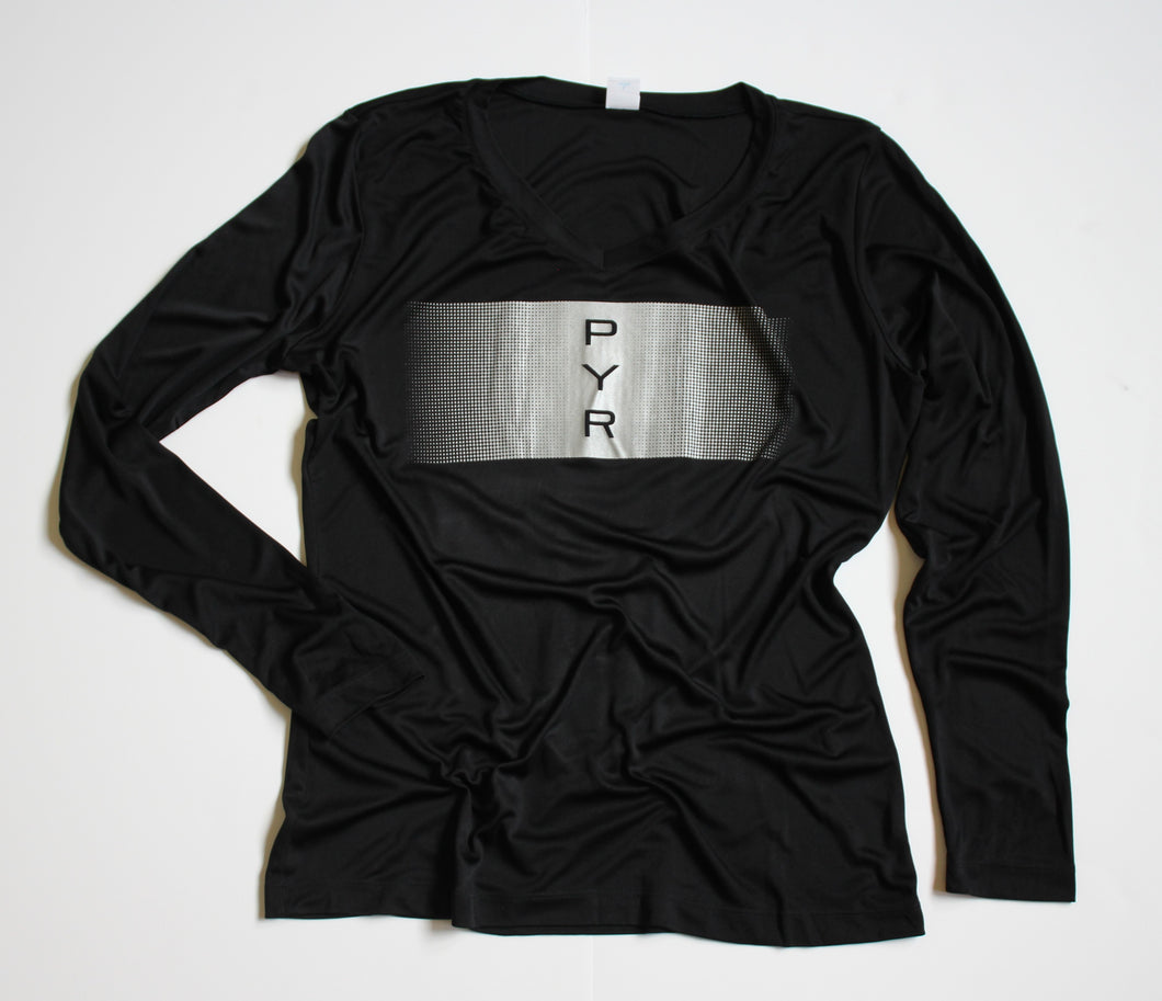 WOMEN'S REFLECTIVE MARATHON PERFORMANCE LONG-SLEEVE SHIRT