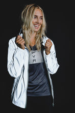 Load image into Gallery viewer, WOMEN'S FULLY REFLECTIVE LIGHTWEIGHT RUNNING JACKET