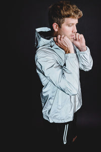 MEN'S FULLY REFLECTIVE LIGHTWEIGHT RUNNING JACKET