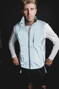 MEN'S FULLY REFLECTIVE LIGHTWEIGHT VEST