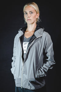 WOMEN'S FULLY REFLECTIVE LIGHTWEIGHT RUNNING JACKET
