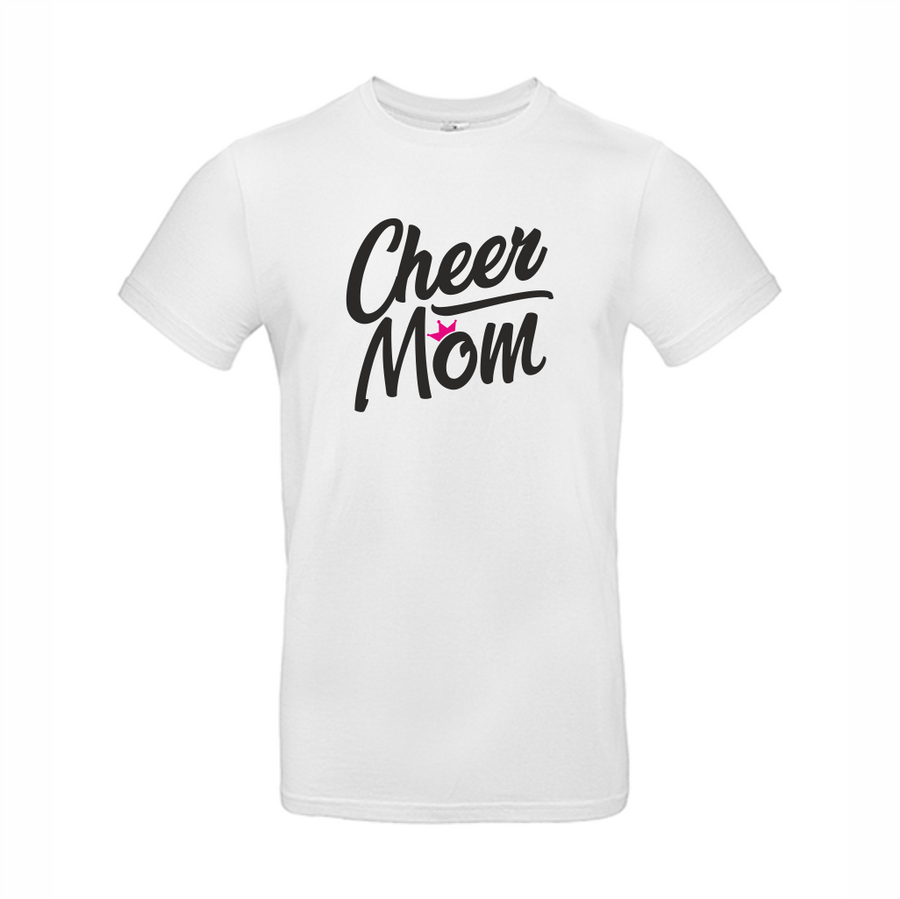 Cheer Mom t-paita
