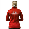 Skillz Gear Invincible verkkatakki LOVE CHEERLEADING -painatuksella