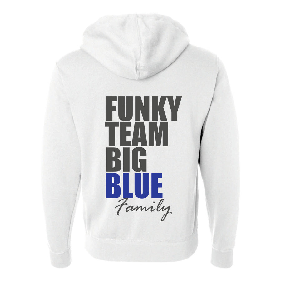 Funky Team Big Blue vetoketjuhuppari