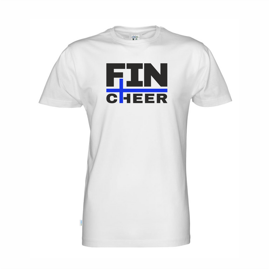 Cottover FIN CHEER t-paita (luomu)