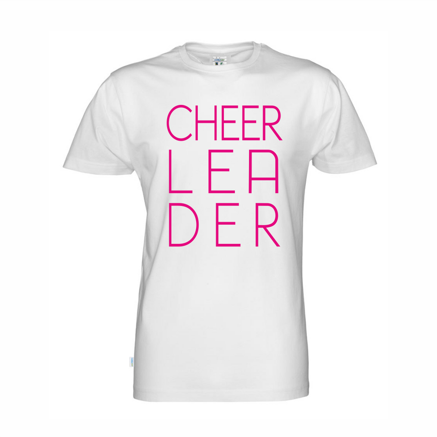 Cottover CHEER-LEA-DER t-paita (luomu)