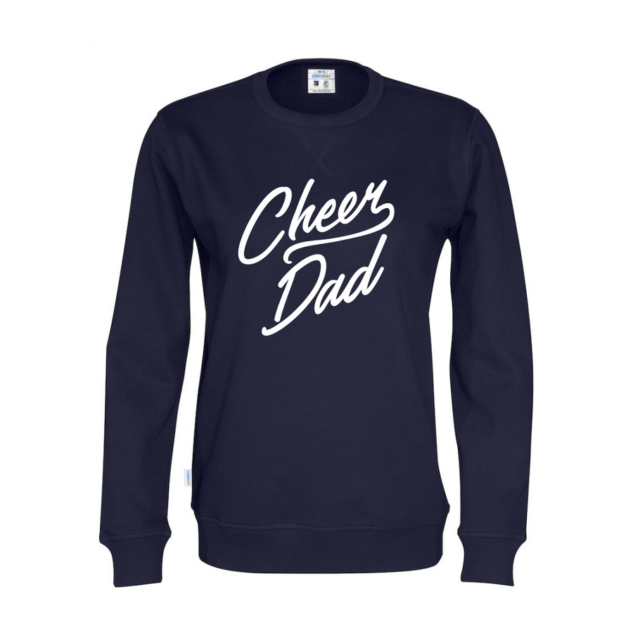 Cottover Cheer Dad collegepaita (luomu)