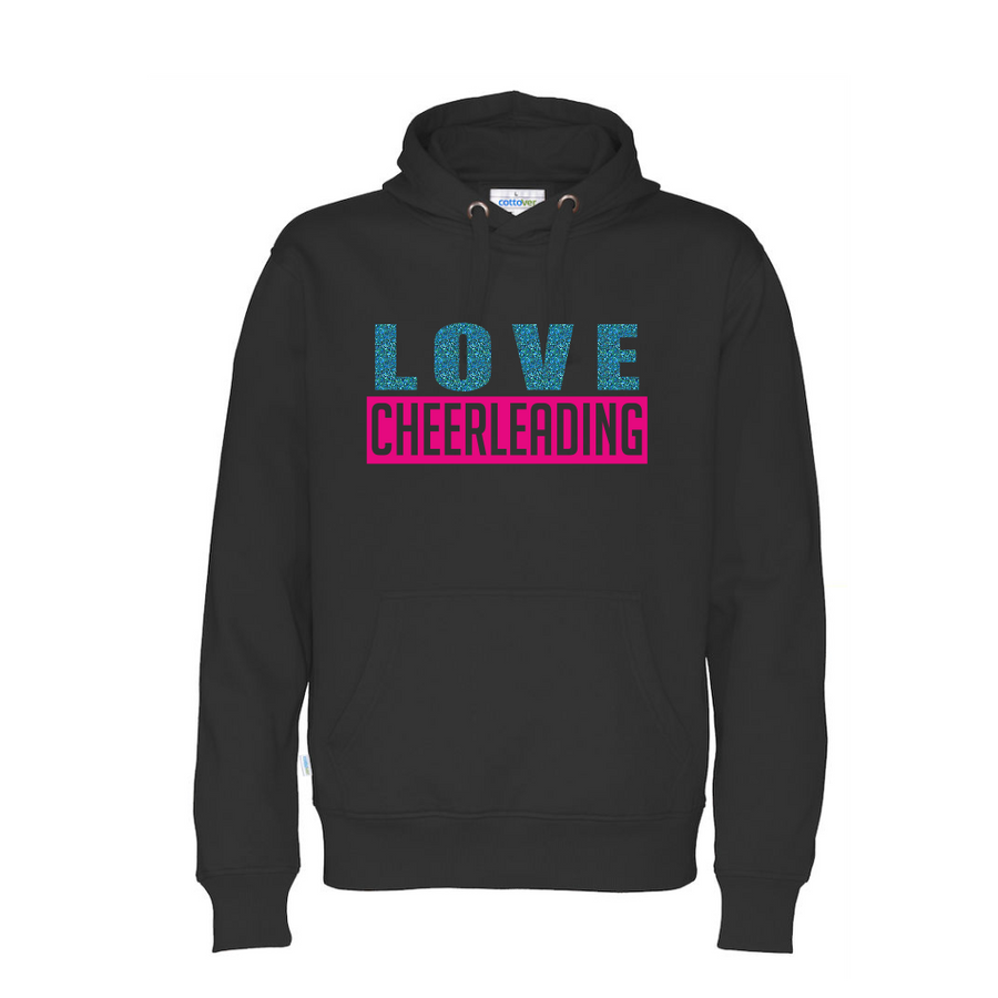 Cottover LOVE CHEERLEADING huppari (luomu)